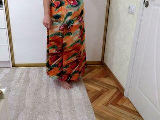 Платье натуральный шелк