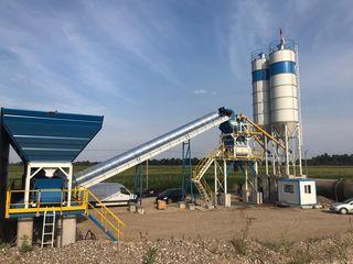Uzina de producere betoane 100m3/ora