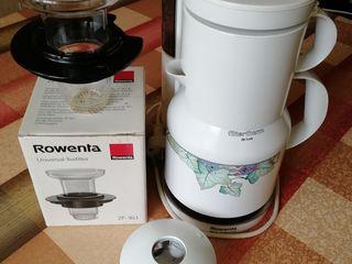 Кофеварка Rowenta (Germany) с фильтрами и для кофе, и для чая, мало использовалась- 320лей.