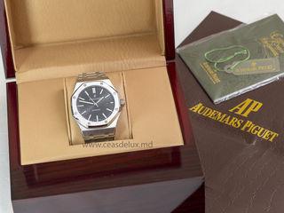 Стальные часы Audemars Piguet с сапфировым стеклом