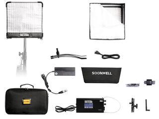 Soonwell FB-11 Гибкий светодиодный свет 50Вт, Bi-Color, размеры 30.5 х 30.5 см
