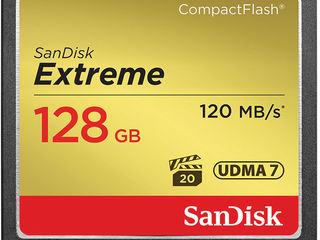 Sandisk EXtreme 120mbs 128GB