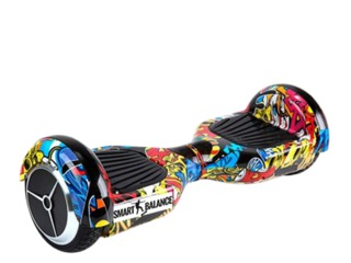 "Smart Balance Regular 6.5""  18 km/h/ 2 x 350 W/ Hip-Hop Разноцветный"