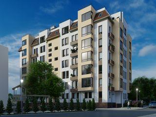 Astercon Grup - apartament cu 2 odăi suprafața 62,89 m2, et.4, 630 €/m2, mun.Chișinău, com.Stăuceni