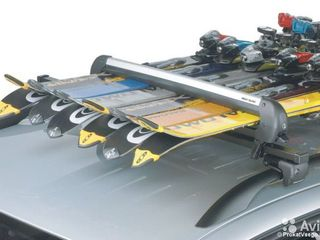 Крепления для лыж. Автобоксы. Поперечены