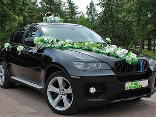 BMW X6 Транспорт для торжеств Transport pentru ceremonie