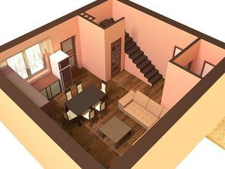 Townhouse 2 nivele. 3 dormitoare+salon. Terasa