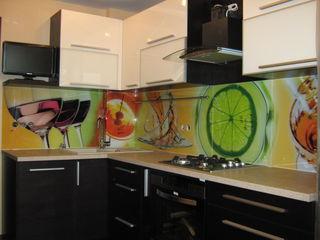 Печать на стекле! Фартук для кухни! Разработка дизайна! Монтаж! Не дорого!