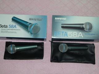 Микрофоны новые в упаковке shure-sennheiser