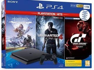 Sony PS4 Slim, Pro (новые, гарантия) Доставка бесплатно!