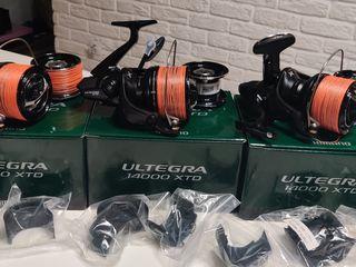 Shimano Ultegra XTD 14000 3 штуки-360 euro,Полный комплект.Идеальное состояние.