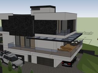Casa moderna pe 6 ari