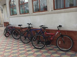Bicicleta din germania roti la 26. Rent adusa in stare buna