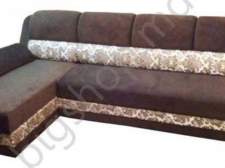 Canapea de colt V-Toms T1+V1 (1.5x2.35) Brown. Posibil în credit!!