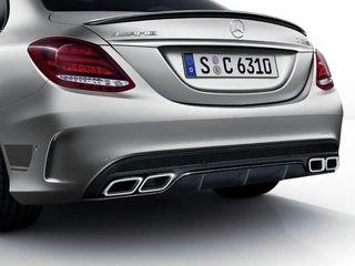 Диффузор задний Mercedes c205 E212 E213