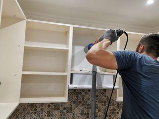 Даже в деревянной панели мы можем пробурить отверстие без пыли и грязи. Фото смотреть всем