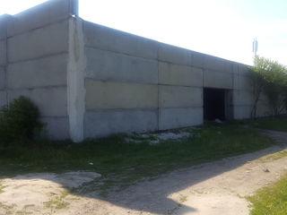 Vind depozit din beton, constructie capitala