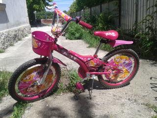 Велосипед детский для принцессы новый
