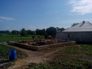 Loc de casa Petresti cu temelie