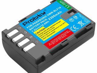 Аккумуляторы Panasonic DMW-BLF19E - 320 Lei для Panasonic DМС-GН3К, GН4, GН5 и др, Зарядки есть.