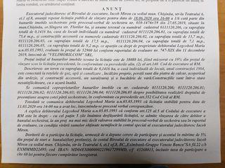 Licitatie de vinzare imobil 38088 lei