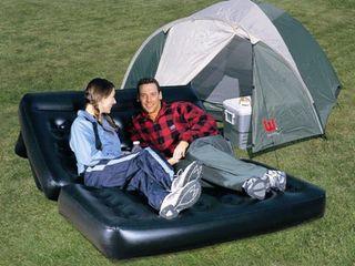 Срочно продам надувной диван б/у дешево
