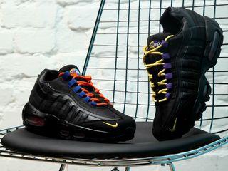 Nike Air Max 95 Premium Black/Rush Blue
