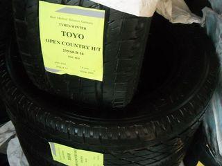 Toyo,Зима 235/60 R16 идеальная- срочно