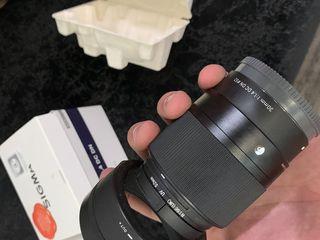 Sigma AF 30mm f/1,4 DC DN Contemporary Sony E-Mount + uv filter Sigma AF 30 mm f1.4