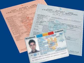Buletin ro/10 zile - paşaport ro -permis ro / 15 zile. Transport