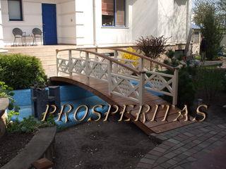 Мостики декоративные, садовые от Prosperitas! Галерея - более 100 моделей беседок, террас, качелей