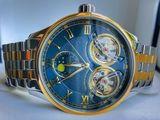 Binger Luxury-45Jewels-Automatic-Double Tourbillon-New