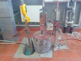 Алмазное сверление без пыли и грязи, отверстий для вытяжек, канализации, вентиляции, котлов, каминов