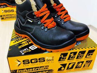 Зимняя рабочая обувь с мехом премиум качества,Произведено в Турции!!