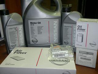 фильтра масло NISSAN