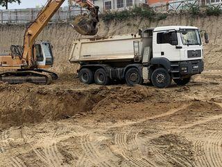 Servicii excavator si basculante