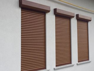 Rolete de protectie, rulouri la ferestre