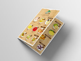 Разработка меню для кафе, ресторанов!
