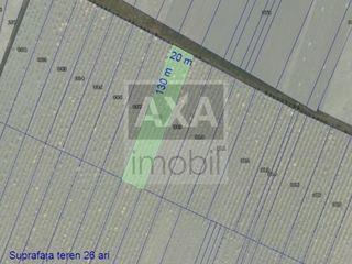 Lot agricol cu suprafața de 26 ari, Durlești