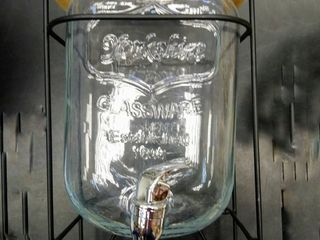 Стеклянный бочонок 5-8 л с краном butoi butoias 5L-8L din sticla