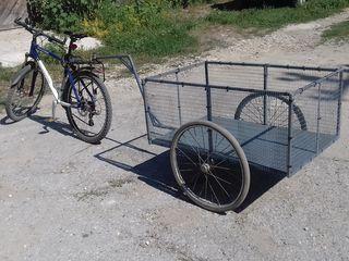 Велосипедный прицеп.