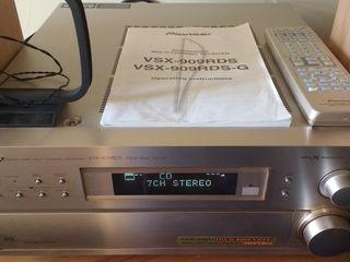 Не дорого !!! Японец 7.1 Pioneer VSX-909 RDS 7х150 Ватт THX Made in Japan идеальное состояние Д/У