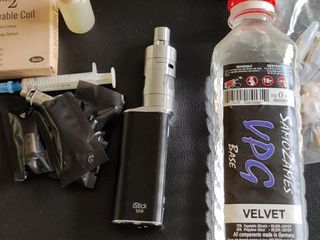 iStick 30W + жидкости