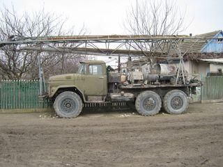 Продаю буровую установку на воду УРБ-2,5А на базе Зил-131, двигатель МАЗ