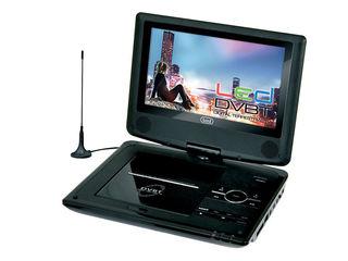 "Portable DVD Player DVBT TV 9"" USB SD TV AUX"