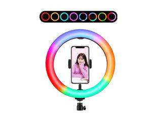 Lampa circulara RGB / Кольцевая лампа RGB