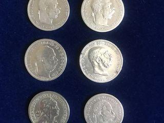 Продам серебряные монеты.