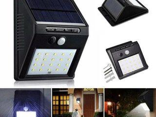 Уличный светильник-фонарь  Solar Motion Sensor Light на солнечной батарее