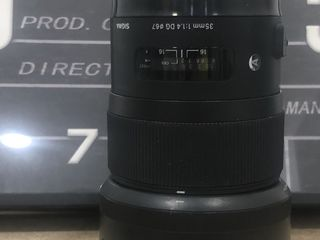 Vind Sigma 35 mm F/1.4 art pentru Nikon