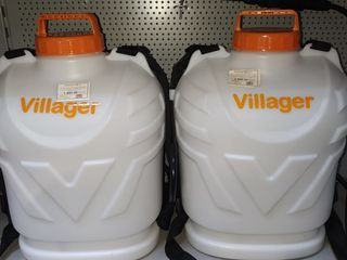 Stropitoare pe baterie villager  vbs 16 li - baterie samsung, o baterie 350 litri lichid garantie